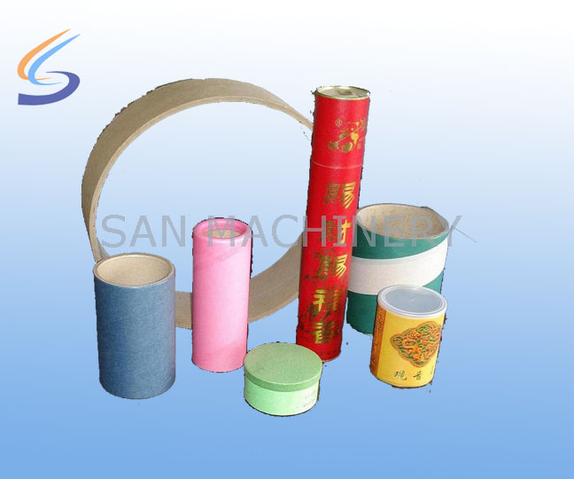 Paper Tube Processing Machine