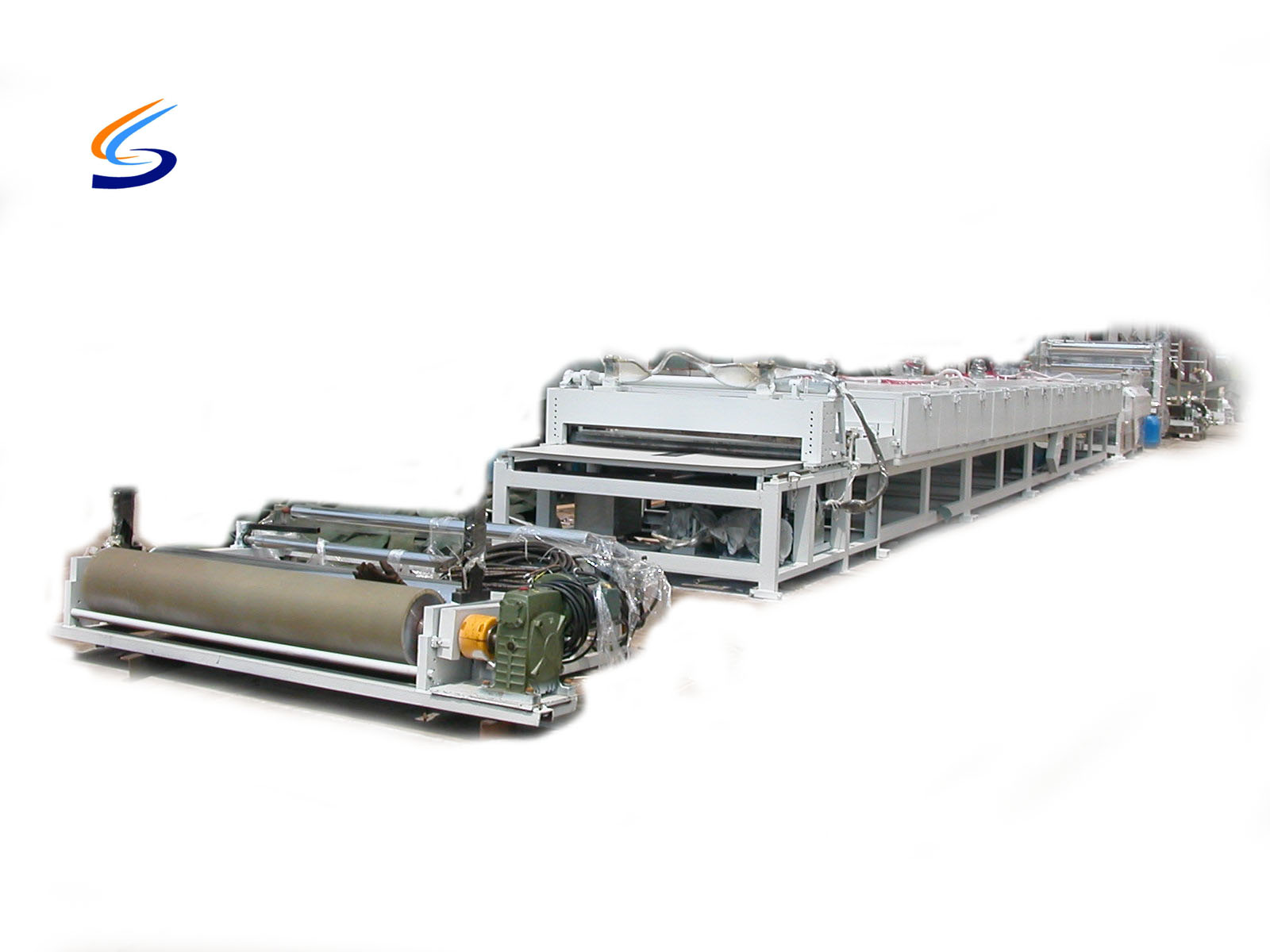 Paper flat board production line