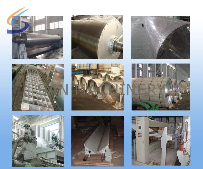 San Machinery,paper machine,tissue paper machine,paper protector