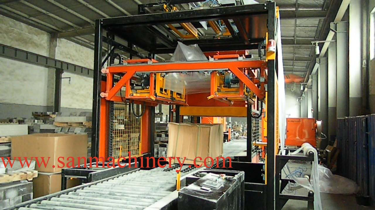 Pallet Shrinking Wrapping machine